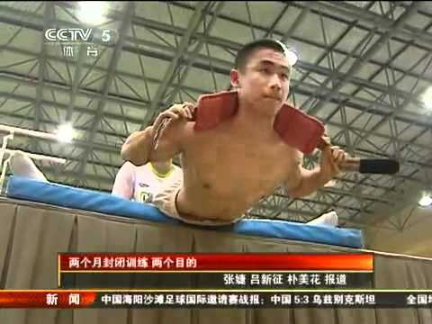 Chinese men team is well prepared for the 2011 Tokyo Artistic Gymnastics World Championships 1