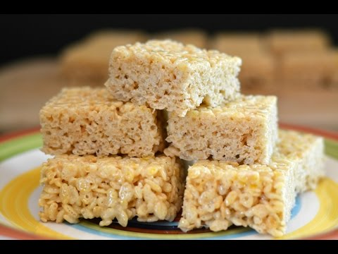 Rice Krispies Treats Recipe | How To Make Rice Krispies Treats | SyS