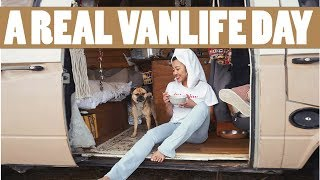 A REAL Van Life Day Of A Solo Female Traveler