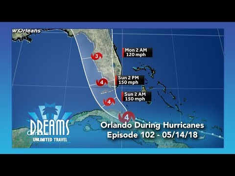 Staying at Walt Disney World & Universal Orlando During a Hurricane | 05/14/18