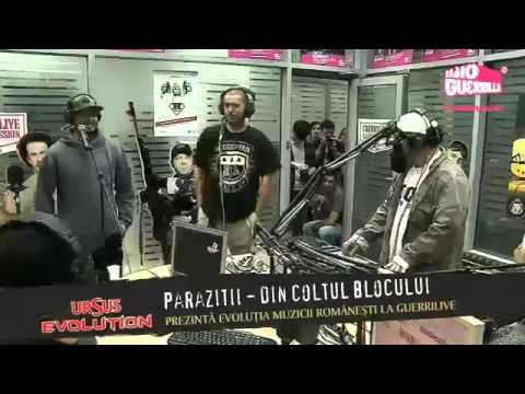 Parazitii din coltul blocului Live Studio