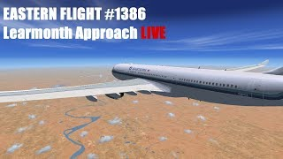 #EasternHops Flight 1368 | Pt. 2 | Learmonth Approach LIVE (KMIA-YPLM +auto ATC)