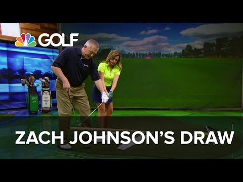 Draw Like Zach Johnson - School of Golf | Golf Channel