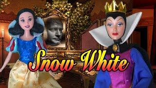 SNOW WHITE & THE 7 DWARFS ! Toys and Dolls Fun with Kid-Friendly Fairy Tale with Disney & Barbie