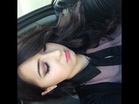Smokey Pink eyeshadow look ♥