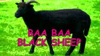 Nursery Rhyme Baa Baa Black Sheep Nursery Rhymes with Lyrics - Kids Songs