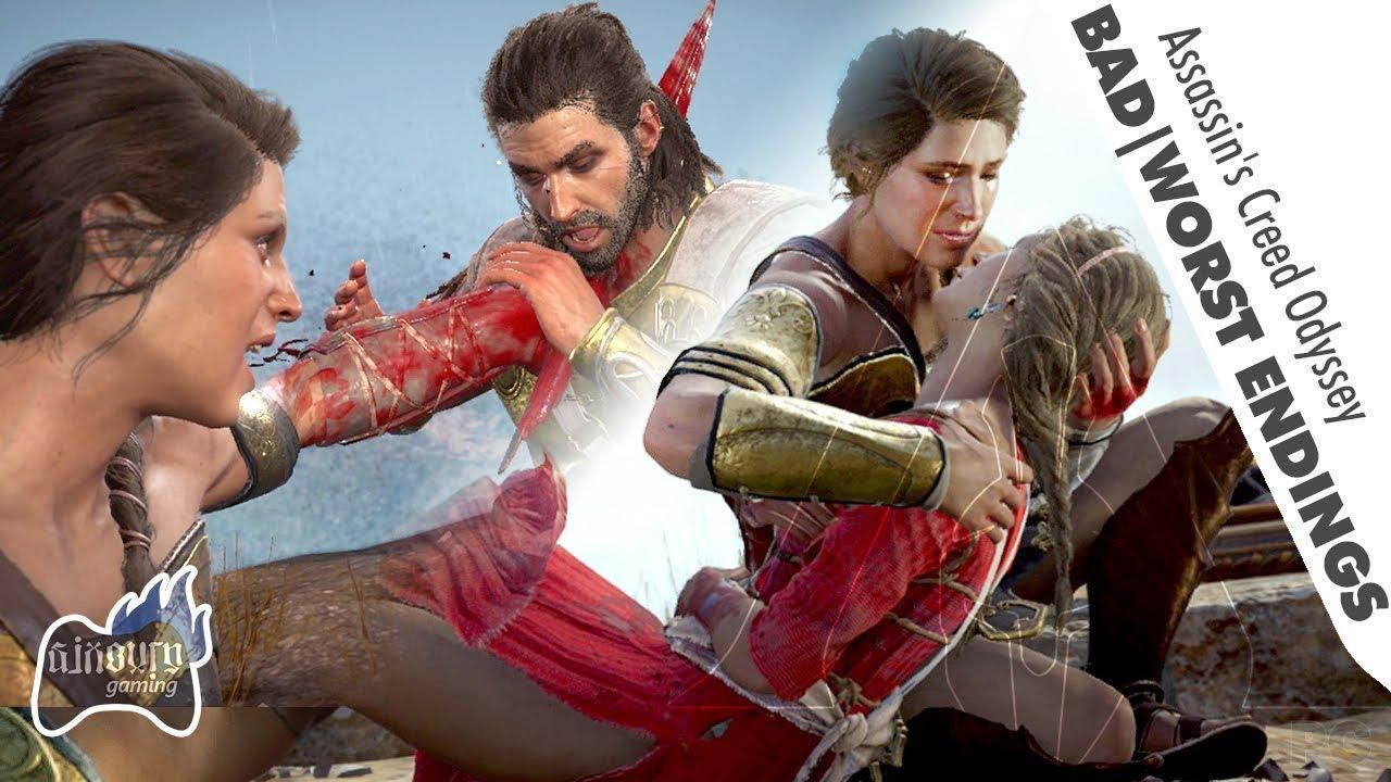 Assassin S Creed Odyssey Bad Worst Endings Kill Deimos Or Kill