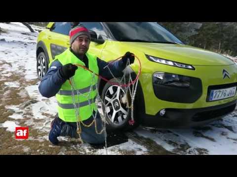 Cómo poner las cadenas de nieve paso a paso