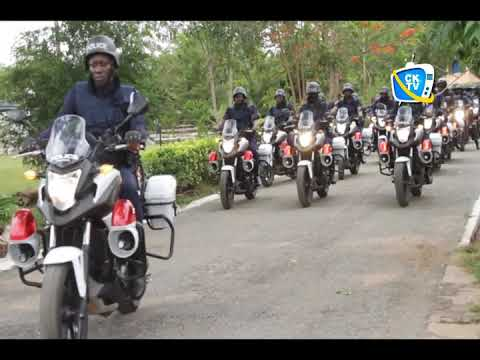 Crime Combat: Ghana Police Service holds Motorbike Parade