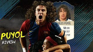 FIFA 18 - PRIME ICON PUYOL (92) PLAYER REVIEW