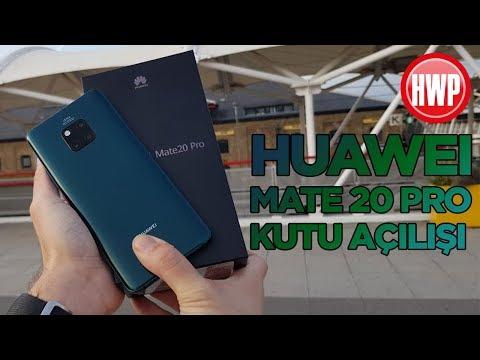 Huawei Mate 20 Pro kutu açılışı