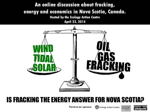 Is fracking the energy answer for Nova Scotia?