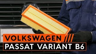 Demontering Luftfilter VW - videoguide
