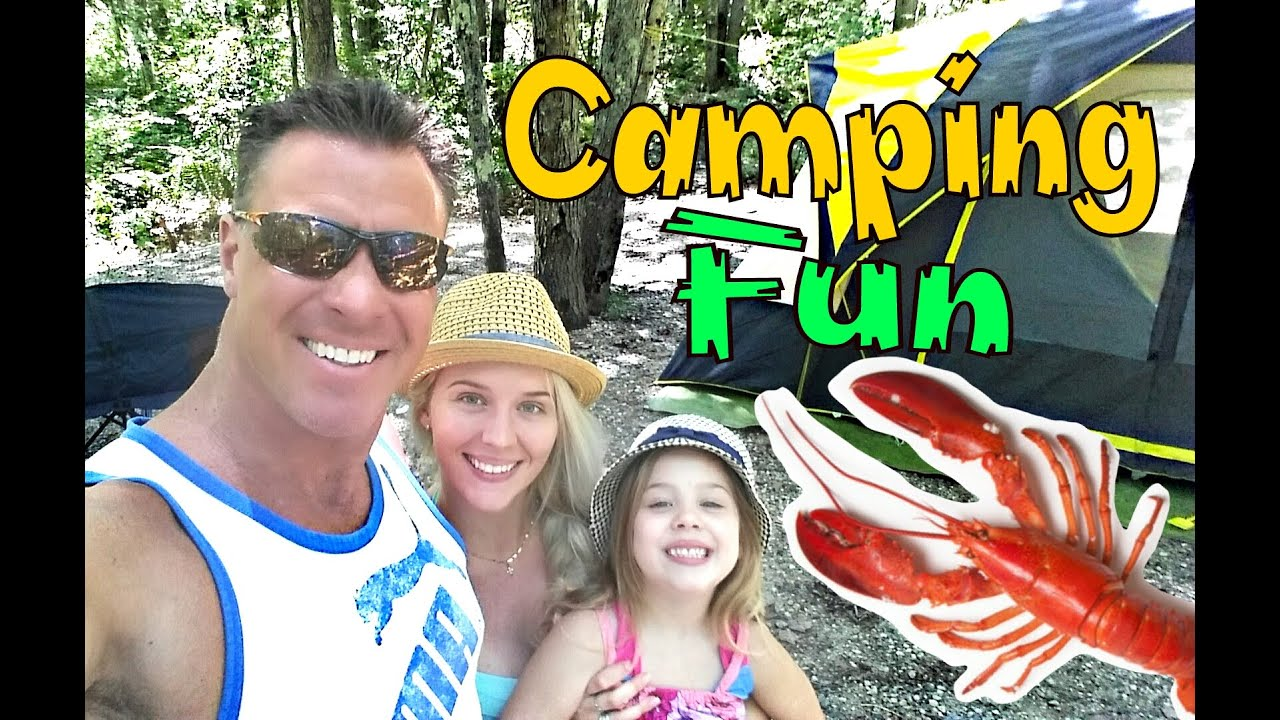 family camping trip vlog youtube