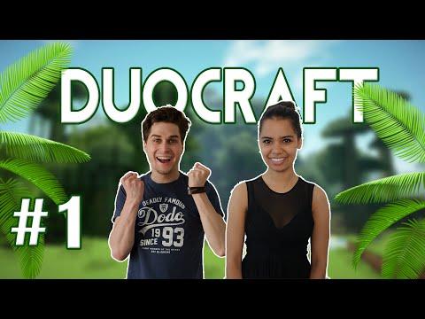 AANGESPOELD OP TREASURE ISLAND! - DuoCraft #1