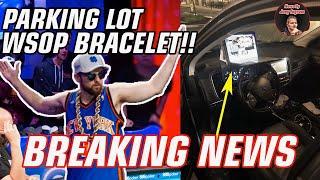 POKER YOUTUBER WINS $160,000 IN PARKING LOT (World Series Of Poker Bracelet!)