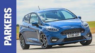 MEGA TEST: Ford Fiesta ST vs VW Up GTI vs Suzuki Swift Sport   Parkers Cheap Fast Cars
