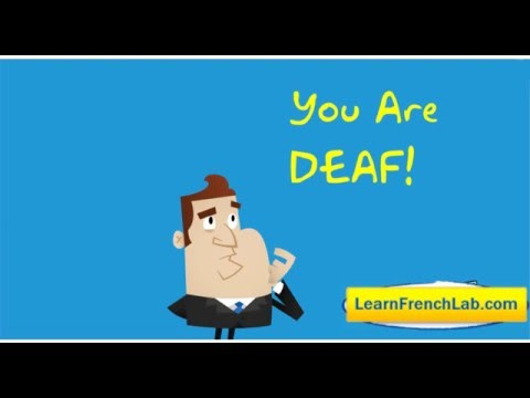 How To Speak With A French Accent - Youtube