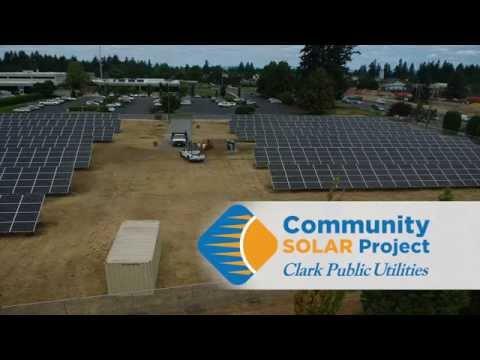 Community Solar Time Lapse