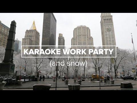 Karaoke Work Party