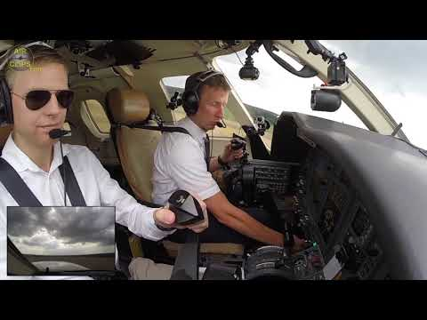 Training Session On Lufthansa Jet! Touch \u0026 Go NICELY Performed By Cadet Chris! [AirClips]