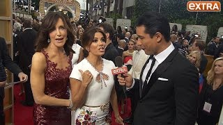 'Desperate Housewives' Reunion! Our Eva Longoria Interview Gets Crashed by Felicity Huffman