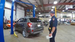 Live State Inspection of Rebuilt Car!