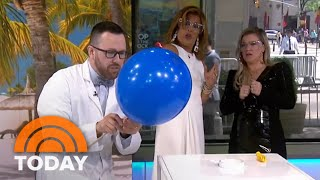 'Mr. Science' Jason Lindsey Shows How To Make A Bubble Snake   TODAY
