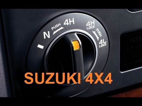 How to Use Suzuki Grand Vitara 4 Wheel Drive System - Suzuki 4X4