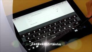 ThinkPad Tablet lekce 5: softwarová klávesnice FlexT9