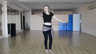 Восточные танцы для начинающих - Урок 2 (движение плечами)