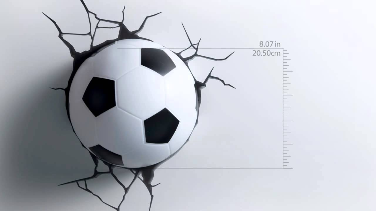 3d Fx Deco Lights Sports Soccer Ball Promotional Video Youtube