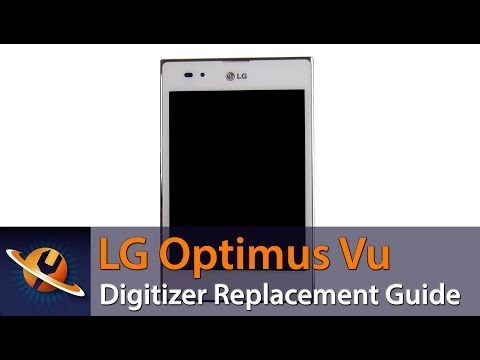 LG Optimus Vu Touch Screen Digitizer Replacement Guide