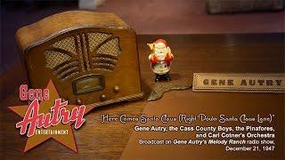 Gene Autry - Here Comes Santa Claus (Gene Autry