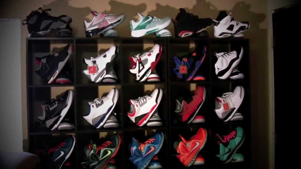 My Sneaker Display Shelving Unit Collection Review Check It Out
