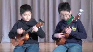 2nd February 2010. elementary school performance day. KAZUKI is 6th...