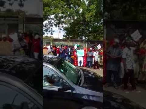 Togolese Protest at ECOWAS, Togo Embassy in Lagos  4