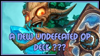 Hearthstone: A new undefeated OP deck ???