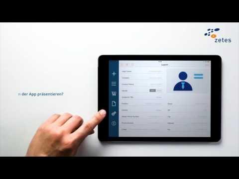 Visitenkarten Scanner Kontaktmanager Messe App Zetes