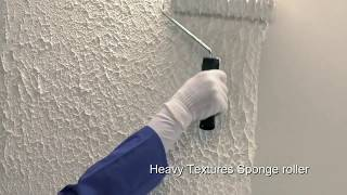 How To Use Berger's Select Heavy Texture For Textured Walls | Berger Paints Arabia