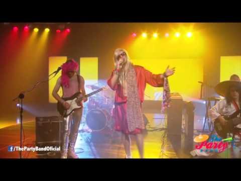 Con la chota al hombro en vivo en Canal 4