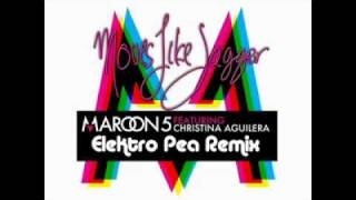 Maroon 5 & Christina Aguilera - Moves Like Jagger ( EleKtro Pea Remix )
