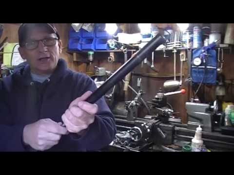 busting open a gas spring and how they work.