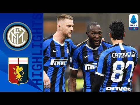 Inter Milan 4-0 Genoa | Lukaku Brace As Inter Top The Table | Serie A TIM
