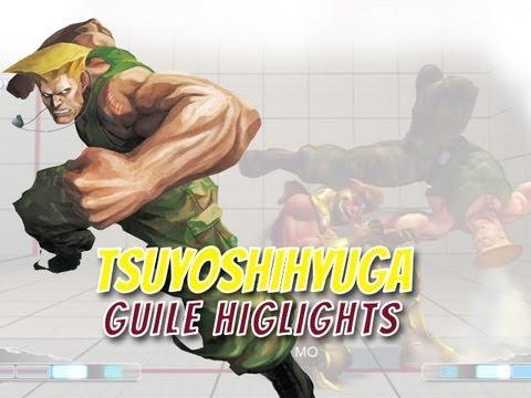 Super Street Fighter 4 AE 2012: Tsuyoshihyuga Guile Highlight Reel