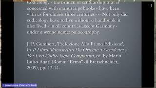 Orietta Da Rold Cambridge University MSS medievali inglesi