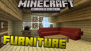 Minecraft Xbox & Playstation: Custom Furniture? | Console Exclusive Discussion!
