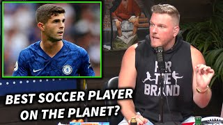 Pat McAfee Chrisian Pulisic Will Be The Best Soccer Player EVER!