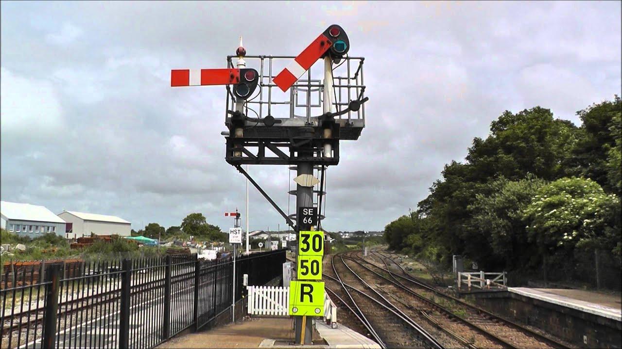 Gwr Semaphore Signals At St Erth  Cornwall