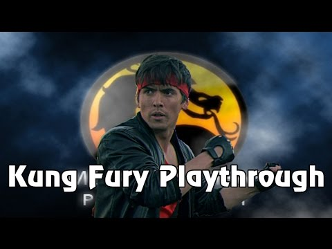 Mortal Kombat Project: Kung Fury On Hardest